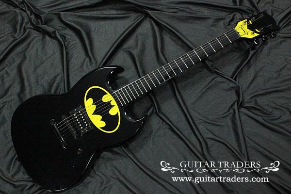Image 1 - Vintage 1989 Bolin USA Batman Electric Guitar Block Colour Only 50 Rare C